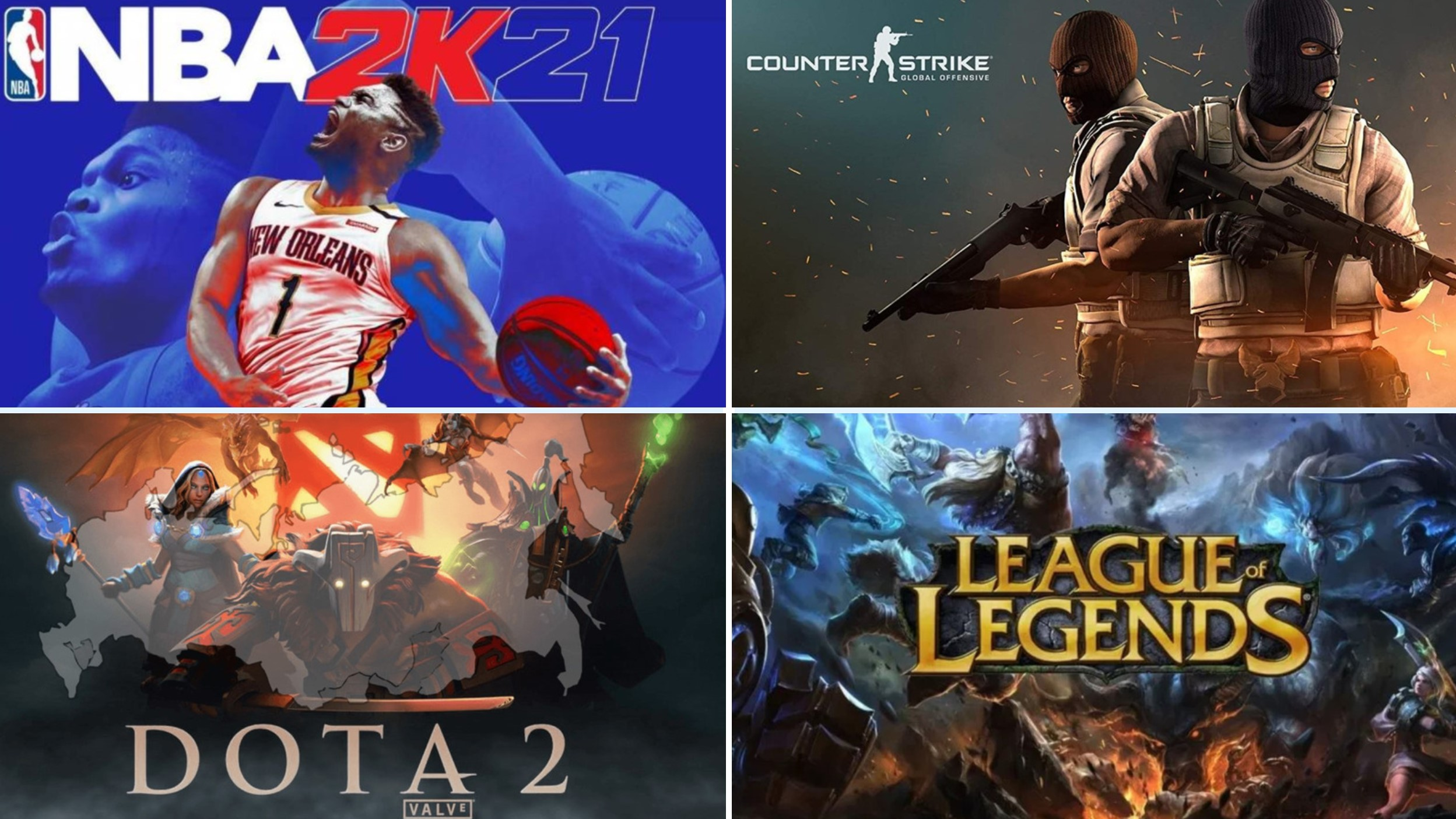 Top E Sports Games